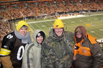 Steelers @ Browns 12/10